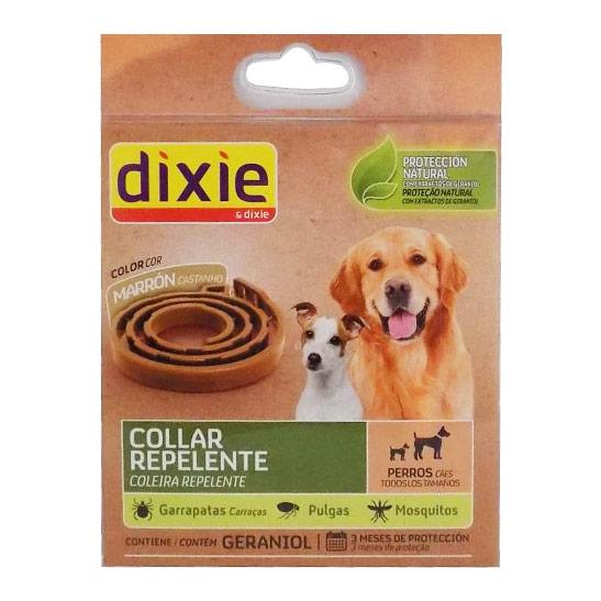 collar marrón repelente perros