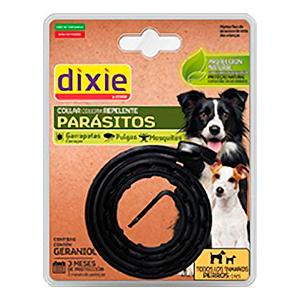 collar repelente negro para perros